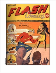 Flash Comic Cover
