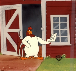 Foghorn Leghorn Original Production Cel