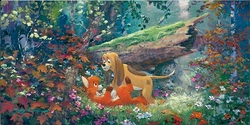 Fox & The Hound<br>Anniversary Edition Canvas