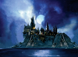 Full Moon at Hogwarts Paper