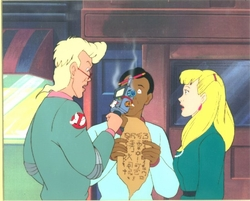 Ghostbusters Production Cel #10