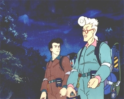 Ghostbusters Production Cel #9