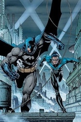 Gotham's Crime Fighters by Jim Lee - Canvas