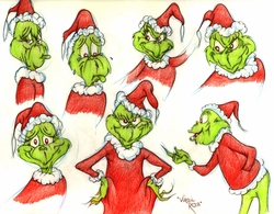 Grinch 7 Image Original Model Drawing