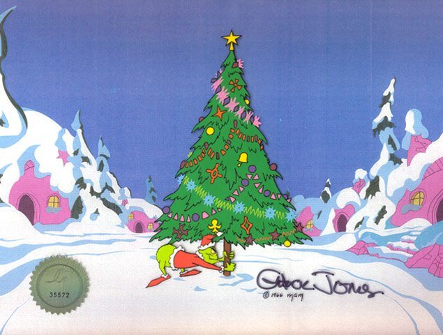 Grinch & Christmas Tree - The Grinch at Choice Collectibles ...