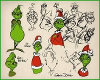 Grinch Model Sheet - How The Grinch Stole Christmas
