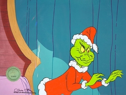 Grinch Original Production Cel
