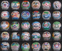 Hand-Painted <br> Original Baseballs