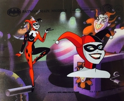 Harley Quinn Model Cel