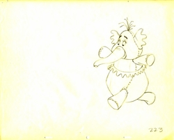 "Heffalump from ""Winnie the Pooh""(1977) #223"