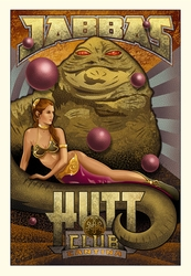 Jabba's Hutt Club <br> (Canvas)