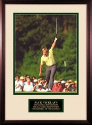 Jack Nicklaus 1986 Masters Photo