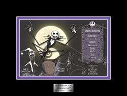 Jack Skellington Character Key