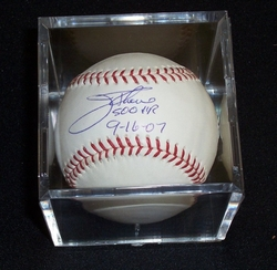 Jim Thome Signed <br>Baseball w/ Inscrip.
