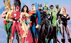 JLA Secret Origins on Canvas