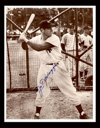 Joe DiMaggio Hand<br> Signed Photograph #2