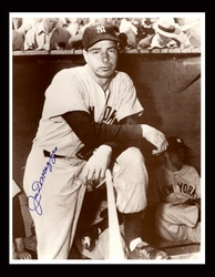 Joe DiMaggio Hand <br>Signed Photograph