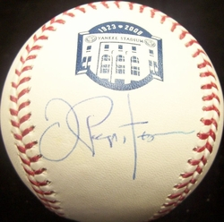 Joe Pepitone <br>Signed Baseball