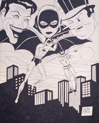 Joker, Catwoman, Penguin - Batman & Robin