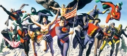 Justice Society of America Canvas