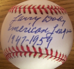 Larry Doby Signed Baseball