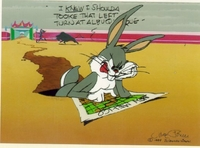 Left At  Albuquerque - Bugs Bunny Art