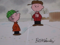 Linus and Charlie Brown