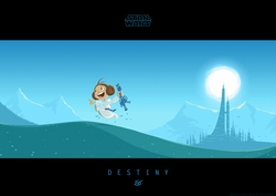 Little Leia's Destiny