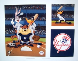 Looney Tunes Yankees<br> Limited Edition Litho