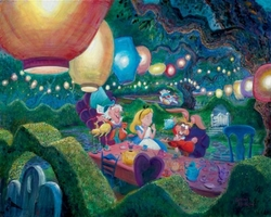 Mad Hatter's <br>Tea Party Canvas
