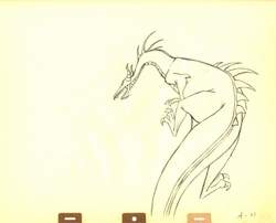 Maleficent as a Dragon from Sleeping Beauty(1959) #A11