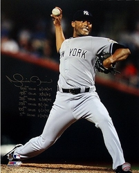 Mariano Rivera 500th<br>  Save  Signed Photo