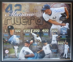 Mariano Rivera 602 Saves Timeline