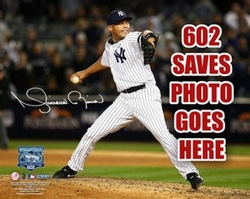Mariano Rivera 602nd Save Photo