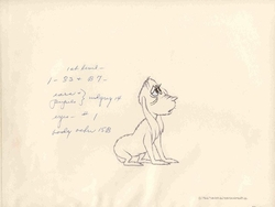 Max Original Production Drawing
