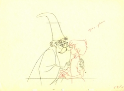 """Merlin & Wart #59 from """"The Sword in the Stone"""" (1963)"""