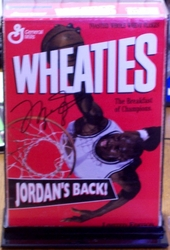 Michael Jordan Wheaties Cereal Box