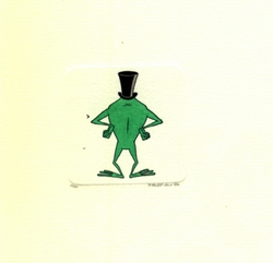 Michigan J. Frog <br>Back Small Etching