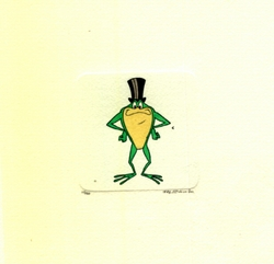 Michigan J. Frog Smiling <br>Small Etching