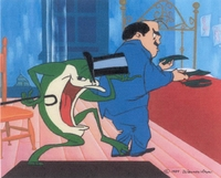 Michigan J. Frog Wild About Harry - Michigan J. Frog