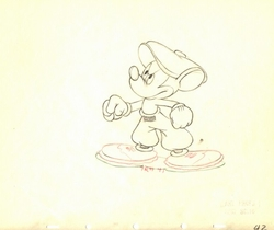 "Mickey Golf  from ""Canine Caddy""(1941) #42"
