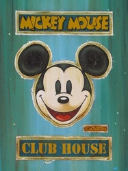 Mickey Mouse Club House Lot 1 (Teal)
