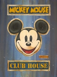 Mickey Mouse Club House Lot 2 (Blue)