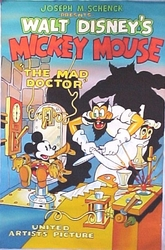 Mickey Mouse The Mad Doctor Movie Poster