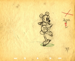Mickey On Ice Drawing #79
