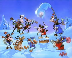 Mickey's Winter Symphony by James C. Mulligan