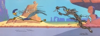 Misguided Muscle  Wile E Coyote & Road Runner - Wile E. Coyote & Road Runner