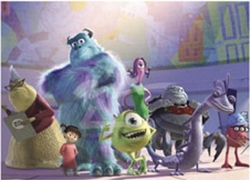 Monsters, Inc. They Scare Because They Care