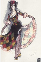 Moulin Rouge, Harlequin Diamonds