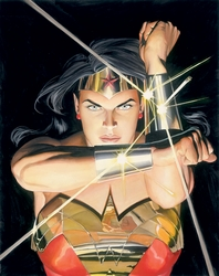 Mythology Wonder Woman Canvas